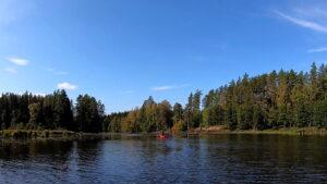 Erkundungstour auf dem Tidan mit Clemens Hirsch, Reiseleiter und Guide in Schweden auf dem Tidan