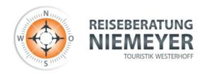 Reiseberatung Niemeyer, Logo und Firmennamen